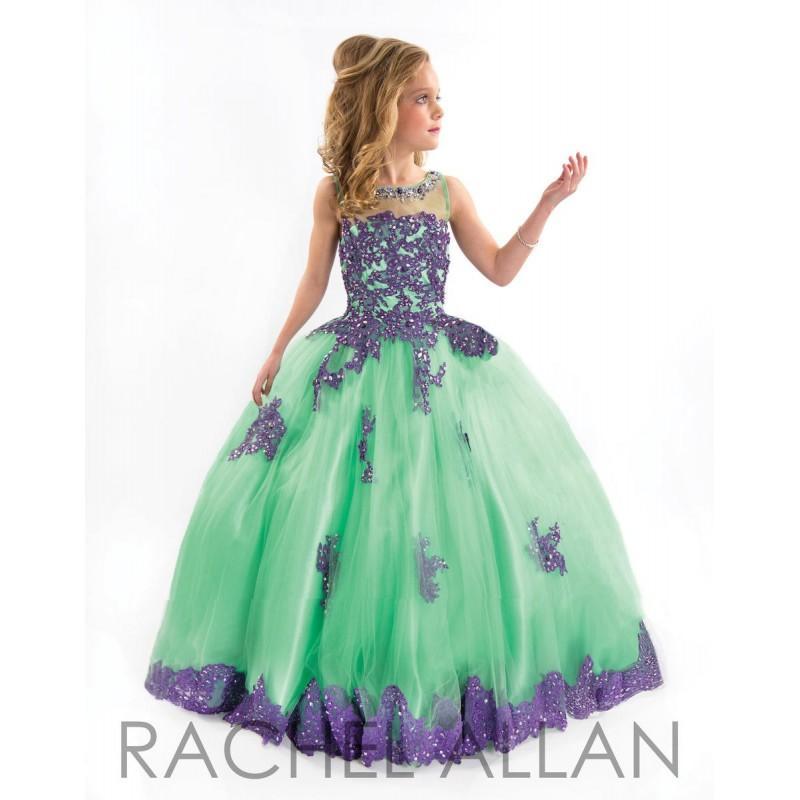 Свадьба - Mint/Purple Rachel Allan Perfect Angels 1550 Rachel Allan Perfect Angel - Rich Your Wedding Day