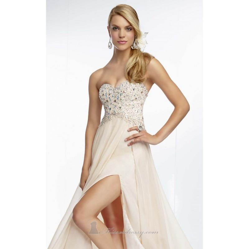 Boda - Chiffon Gown by Paparazzi by Mori Lee 95047 - Bonny Evening Dresses Online