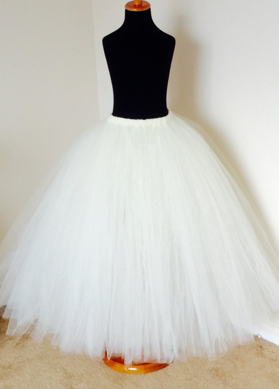 Mariage - Any Color Adult Tutu, tulle  adult tutu,Ivory tutu,Bridesmaid tutu,Bachelorette Party,Tutu skirt For ADULTS and  kids