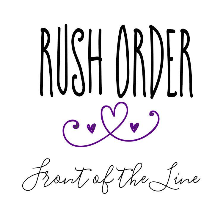 Mariage - Rush Order- Front of Production Line!