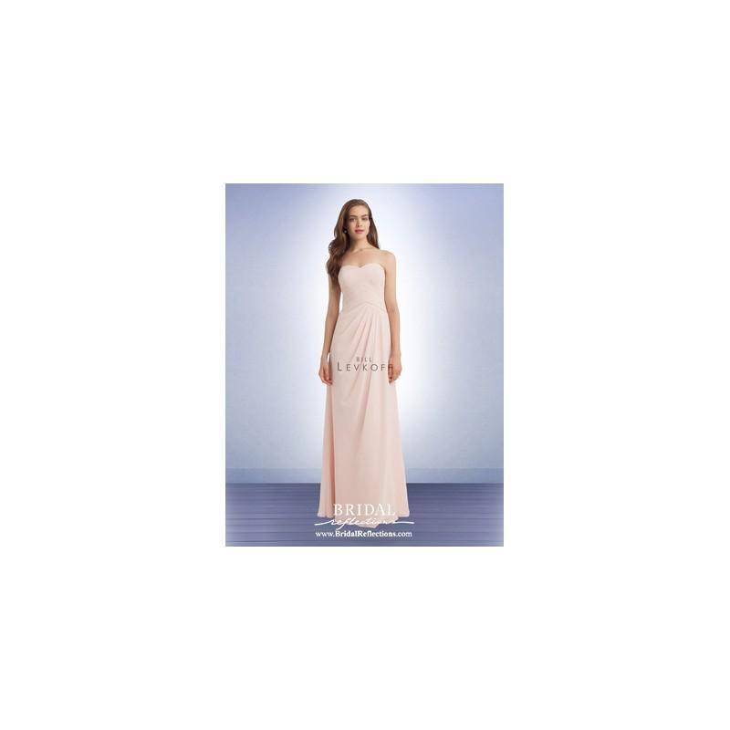 Wedding - Bill Levkoff 1125 - Burgundy Evening Dresses