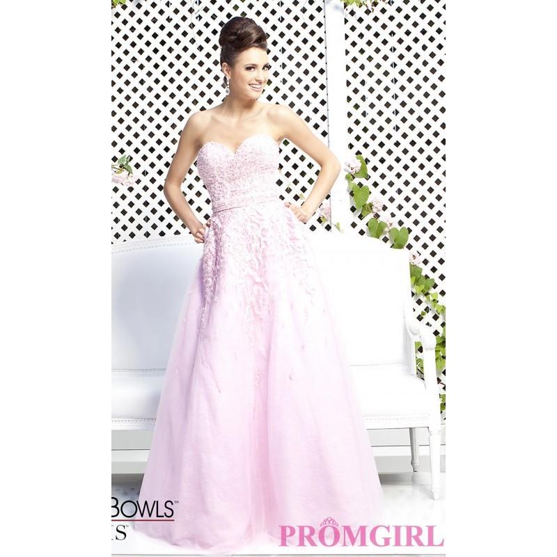 Mariage - Tony Bowls Strapless Sweetheart Prom Dress - Brand Prom Dresses