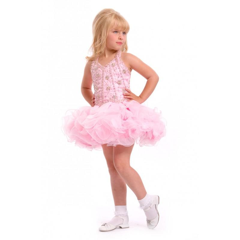 Свадьба - Party Time Perfect Angels Toddlers 1458 - Rosy Bridesmaid Dresses