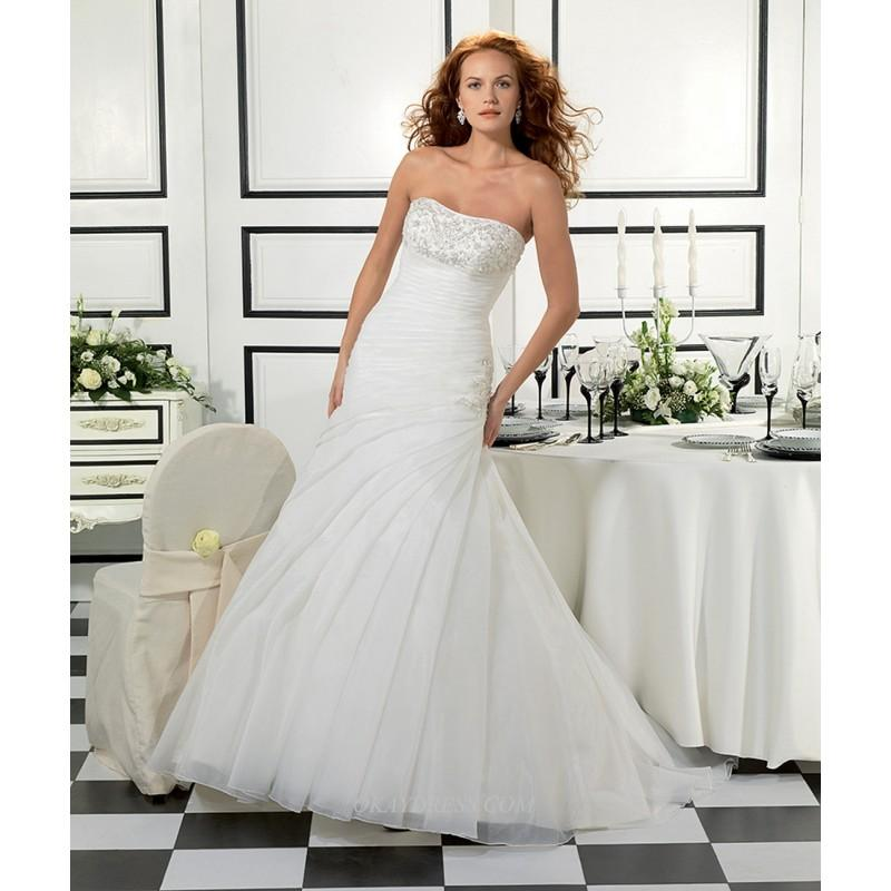 Hochzeit - Eddy K Bouquet Styles Ak92 Bridal Gown (2014) (EK14_Ak92BG) - Crazy Sale Formal Dresses