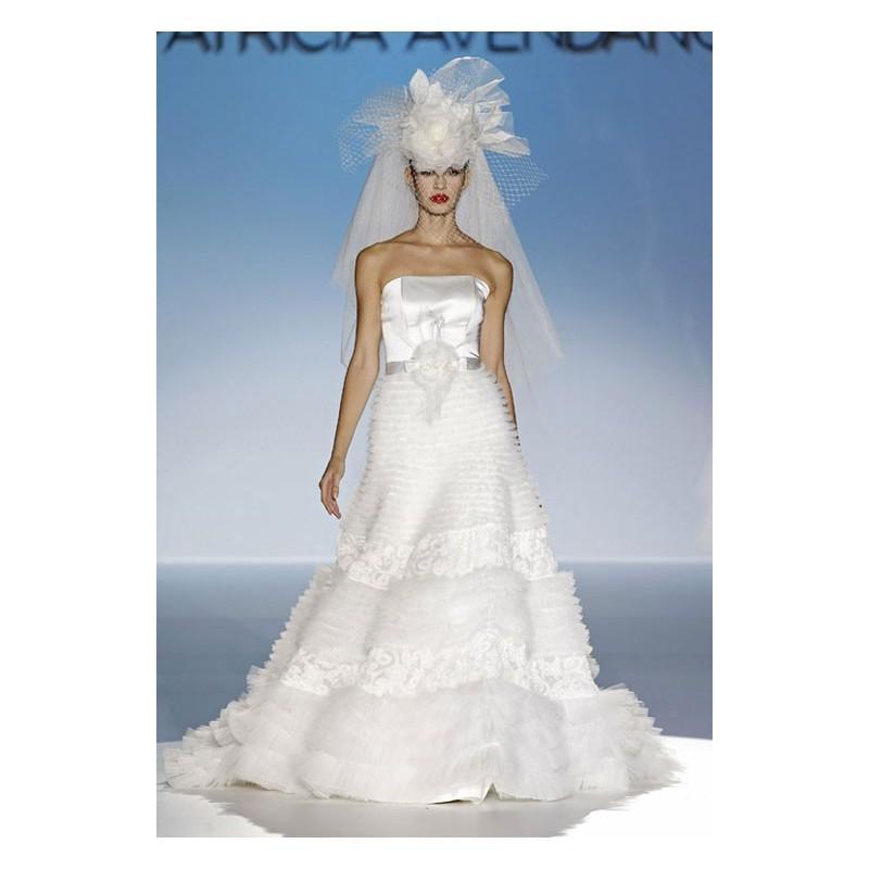 Свадьба - Vestido de novia de Patricia Avendaño - Tienda nupcial con estilo del cordón