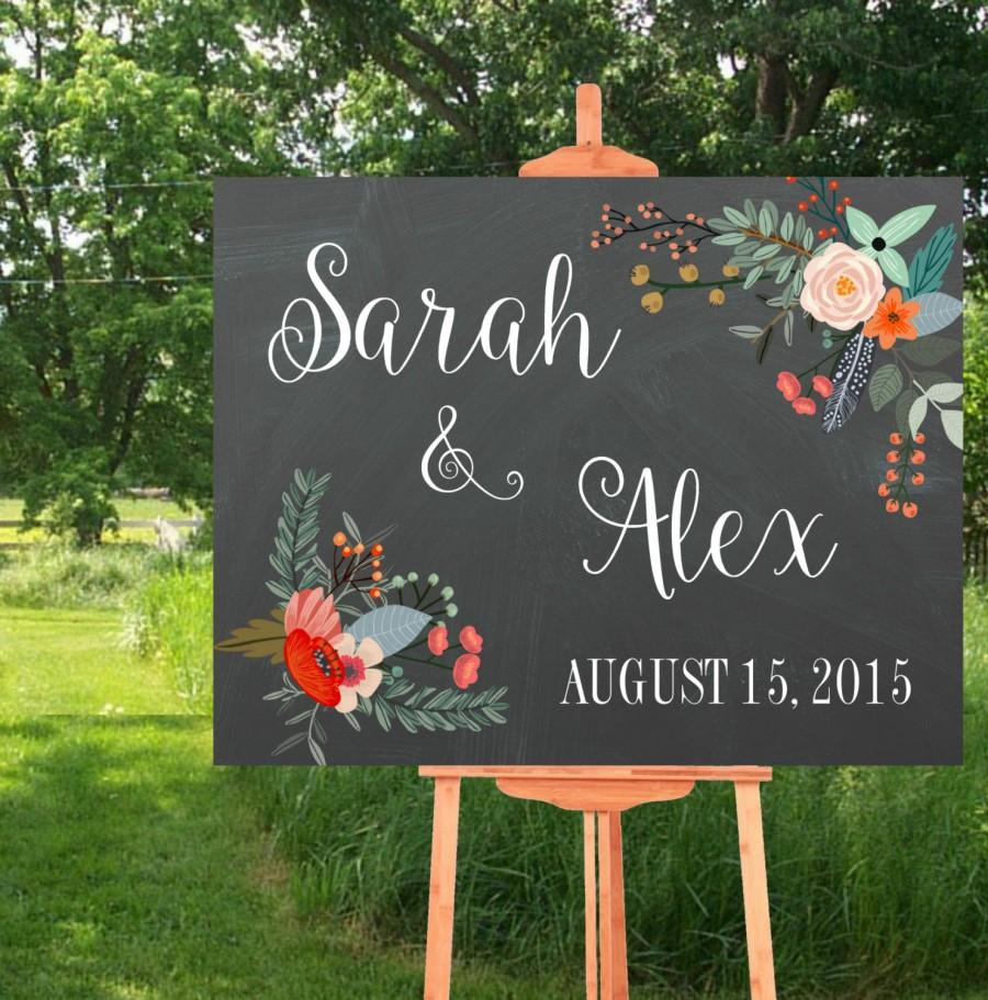 picture about Printable Chalkboard Signs known as Marriage ceremony Indicator, Marriage Printables, Wedding day Signs and symptoms Printable