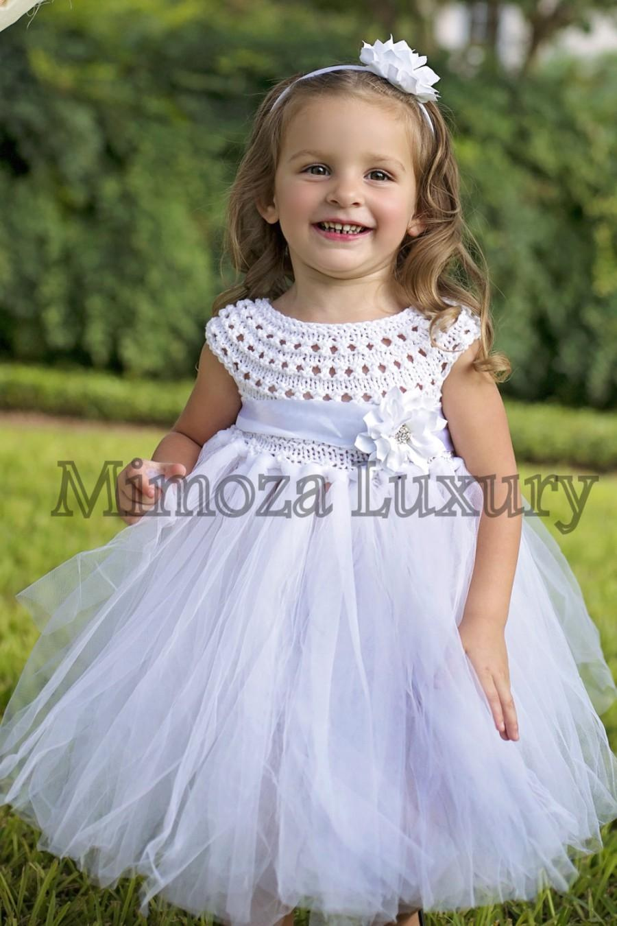 c24f9ef5d40 White Flower Girl Dress