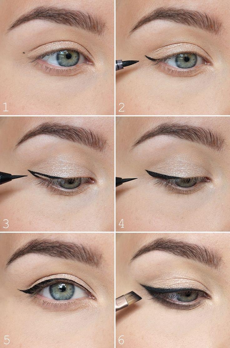 Свадьба - Eyeliner-tutorial: Pisteet Avuksi Rajauksen Tekoon - NUDE