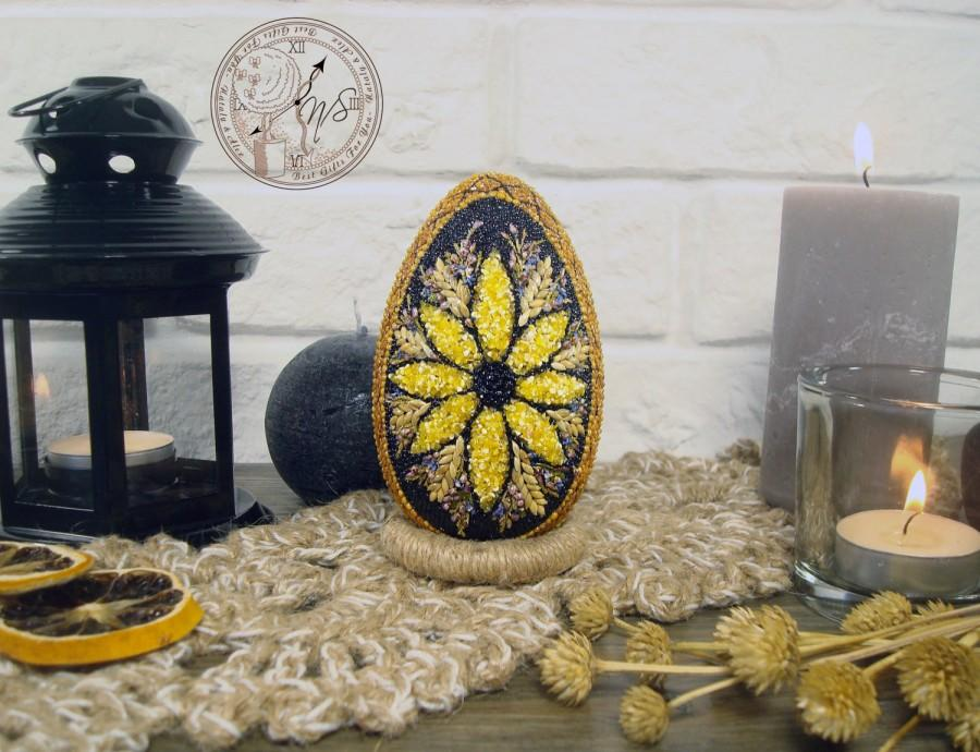 Свадьба - Easter Egg decorated with seeds - Easter - Easter eggs - Easter decor - Egg