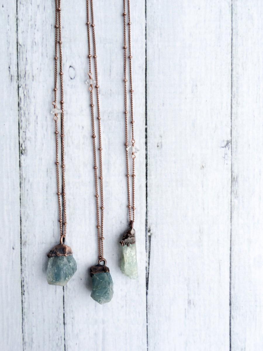 Свадьба - Natural gemstone necklace