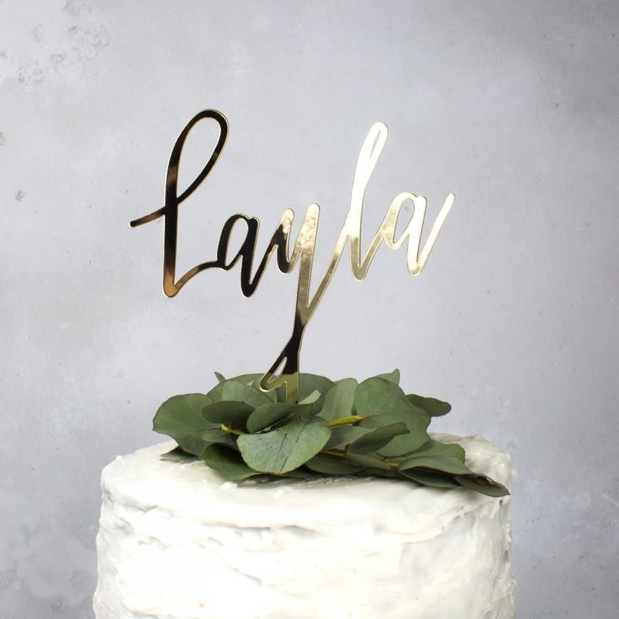 Свадьба - name cake topper - birthday cake topper - 1st birthday cake topper - 30th Cake topper - personalised cake topper - christening cake topper