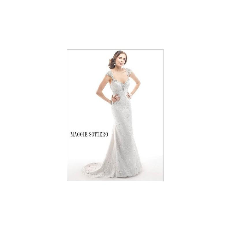 Boda - Maggie Bridal by Maggie Sottero Brandy-4MS884 - Branded Bridal Gowns