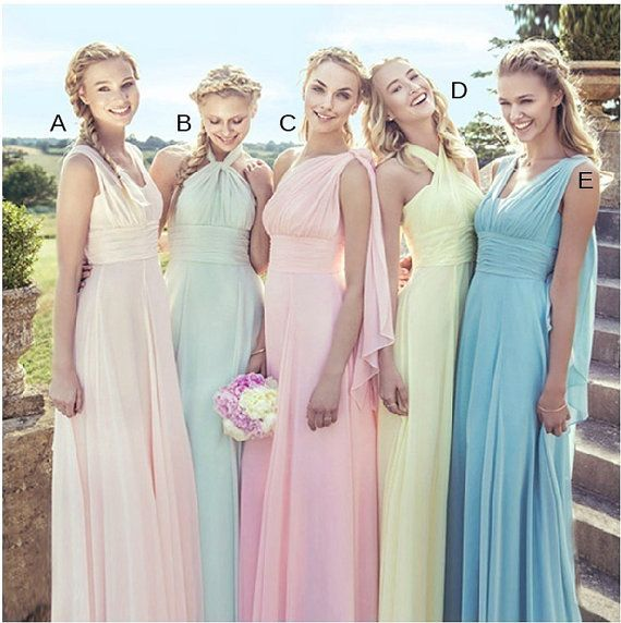 Düğün - Bridesmaid Dress -  Infinity Dress