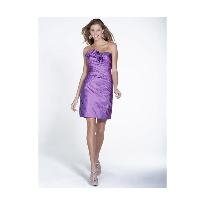 Boda - Pretty Maids 22506 Short Taffeta Bridesmaids Dress - Crazy Sale Bridal Dresses