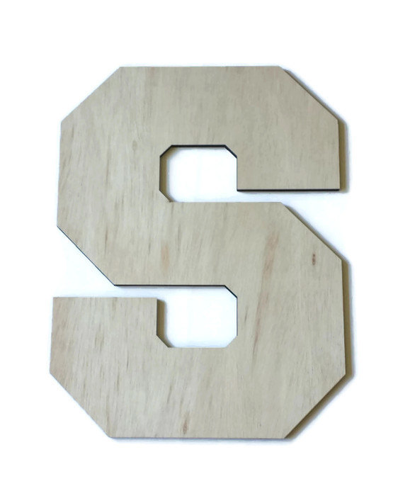 """Свадьба - 24"""" tall wood letter, unfinished wood letter, Wedding Sign, Guest Book Alternative, 2 foot tall wood letter, large wood letter, Birch"""