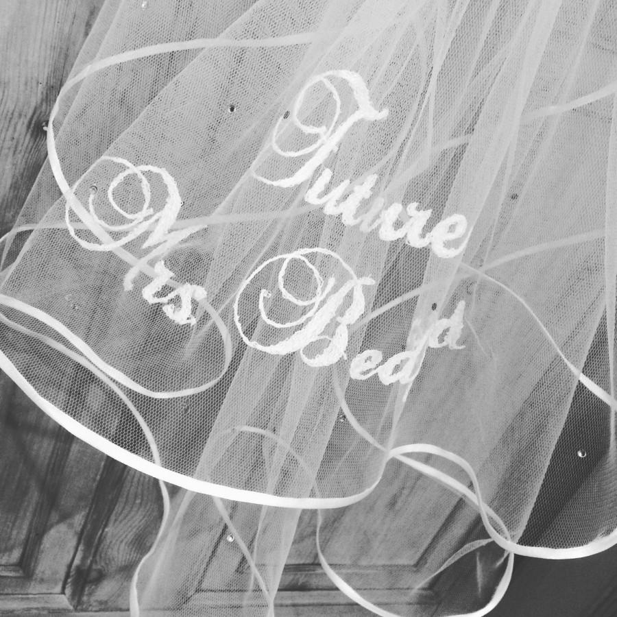 Mariage - Future Mrs Bridal Hen Party Veil