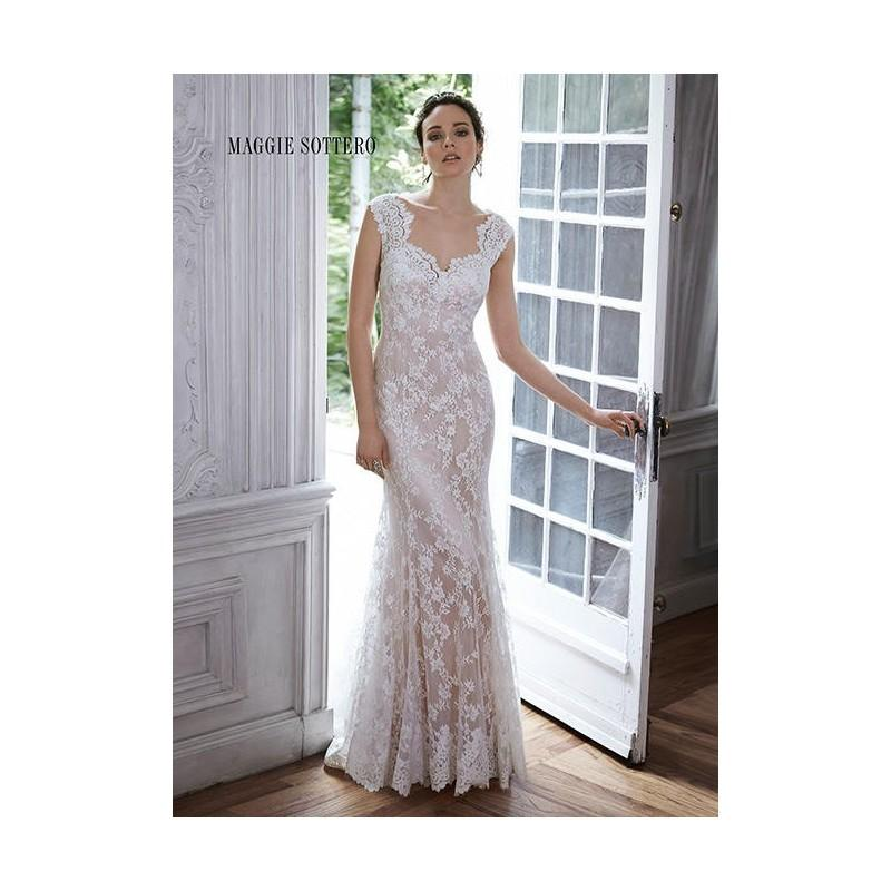Свадьба - All White Maggie Bridal by Maggie Sottero Londyn - Brand Wedding Store Online