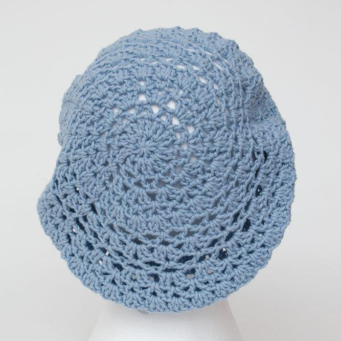 Cotton Crochet Hat Summer Knitted Hats Crochet Summer Beret Cotton