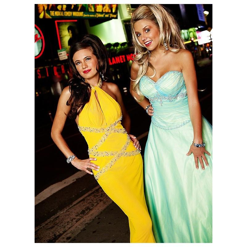 Свадьба - Exclusively Designed for The Cool Book 9913 Blue/Lime,Hot Pink,Red/Yellow Dress - The Unique Prom Store