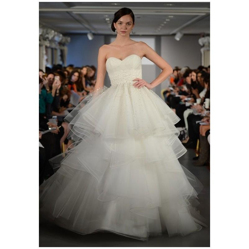 Wedding - Cheap 2014 New Style Ines Di Santo Triomphe Wedding Dress - Cheap Discount Evening Gowns
