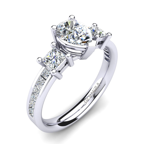 Hochzeit - Buy Stunning 950 Platinum Engagement Rings at Best Price
