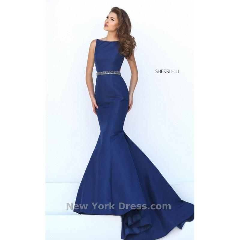 Boda - Sherri Hill 50408 - Charming Wedding Party Dresses