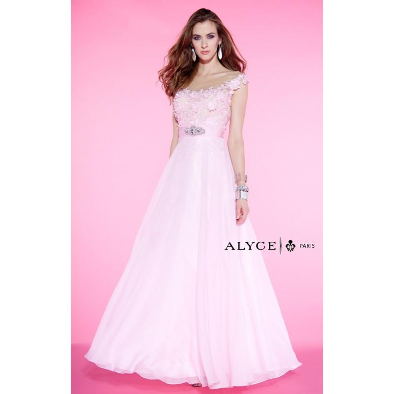 Wedding - Alyce Paris - 6397 - Elegant Evening Dresses