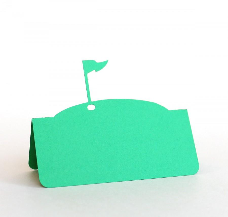 Mariage - Golf Flag Pin Place Cards Set of 50