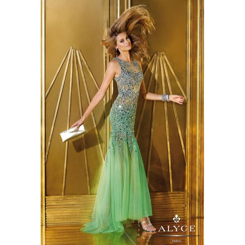 Hochzeit - Alyce Paris 6192 Dress - Brand Prom Dresses