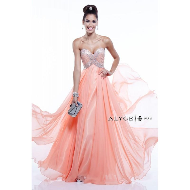 Mariage - Coral Alyce Prom 6403 Alyce Paris Prom - Rich Your Wedding Day