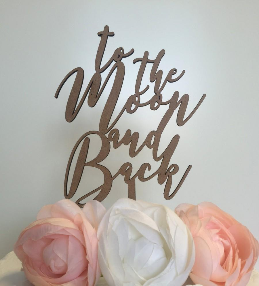Mariage - To the Moon and Back