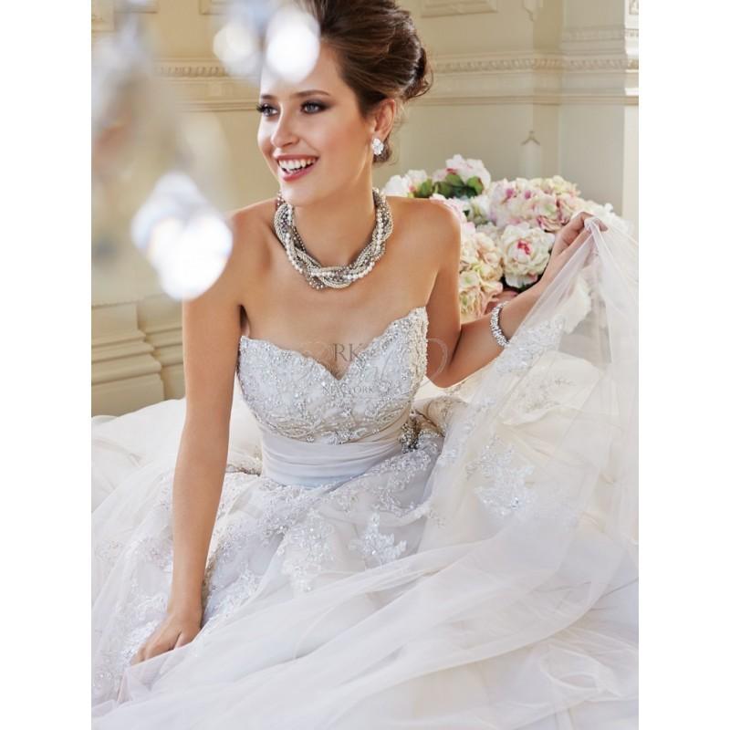 زفاف - Sophia Tolli Bridal Fall 2014 - Y21434 Ida - Elegant Wedding Dresses