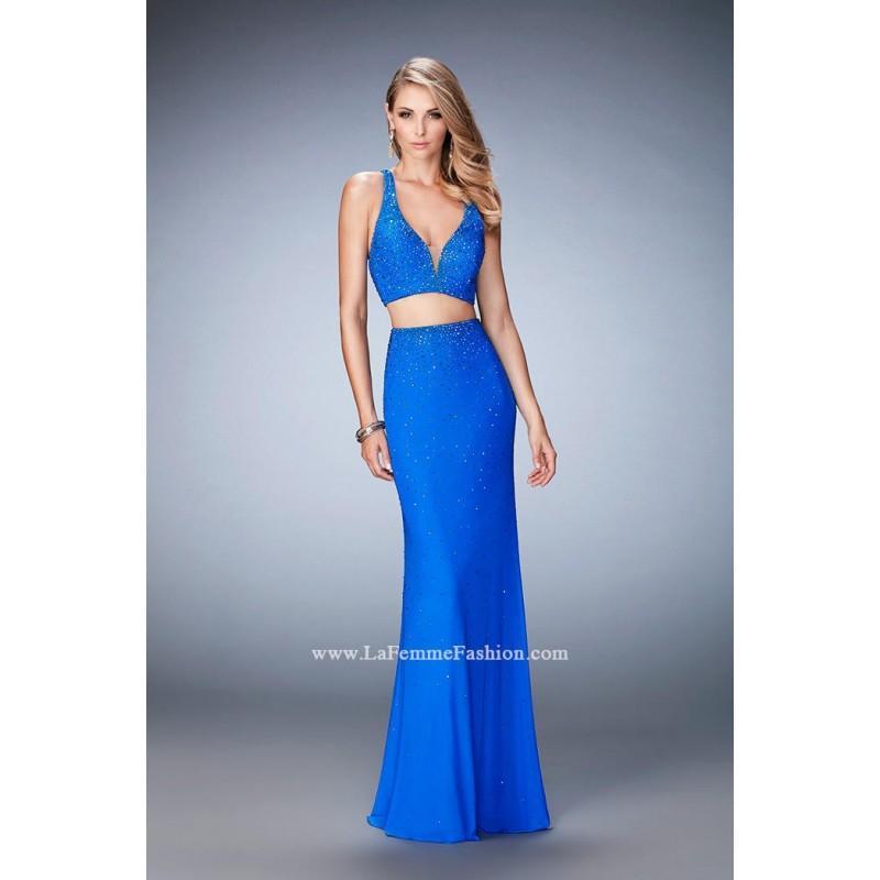 Свадьба - Black La Femme 22368  La Femme Prom - Elegant Evening Dresses