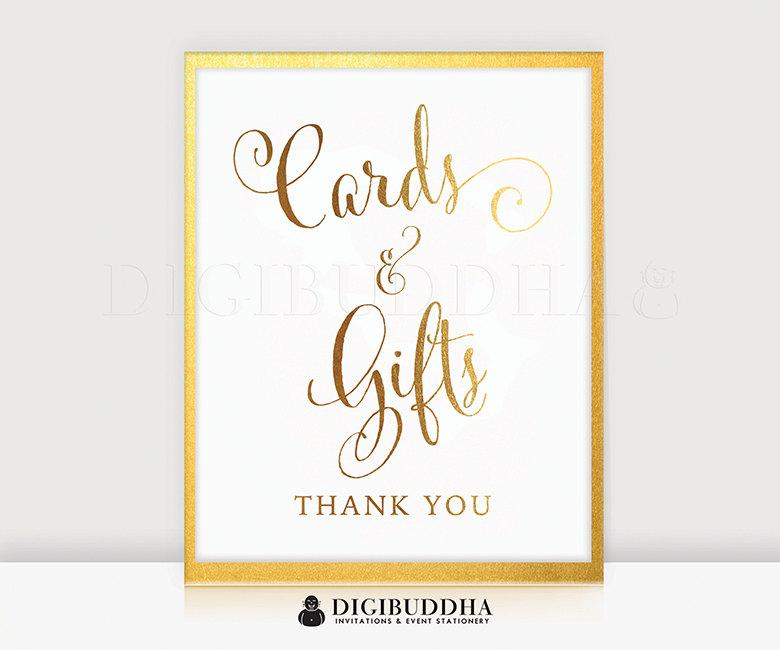 Boda - Cards & Gifts GOLD FOIL PRINT Wedding Sign Reception Signage Poster Decor Calligraphy Typography Keepsake Gift Bride Groom 8x10 5x7 Gold D35