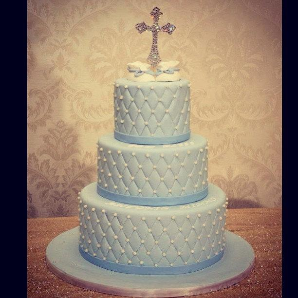 """Mariage - 6"""" Tall Cross Cake Topper"""