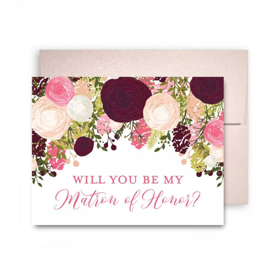 زفاف - Will You Be My Bridesmaid Card, Bridesmaid Cards, Ask Bridesmaid, Bridesmaid Maid of Honor Gift, Matron of Honor, Flower Girl