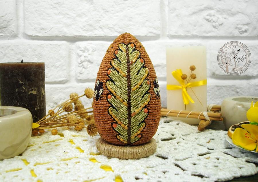 Mariage - Easter Egg decorated with seeds - Easter - Easter eggs - Easter decor - Egg