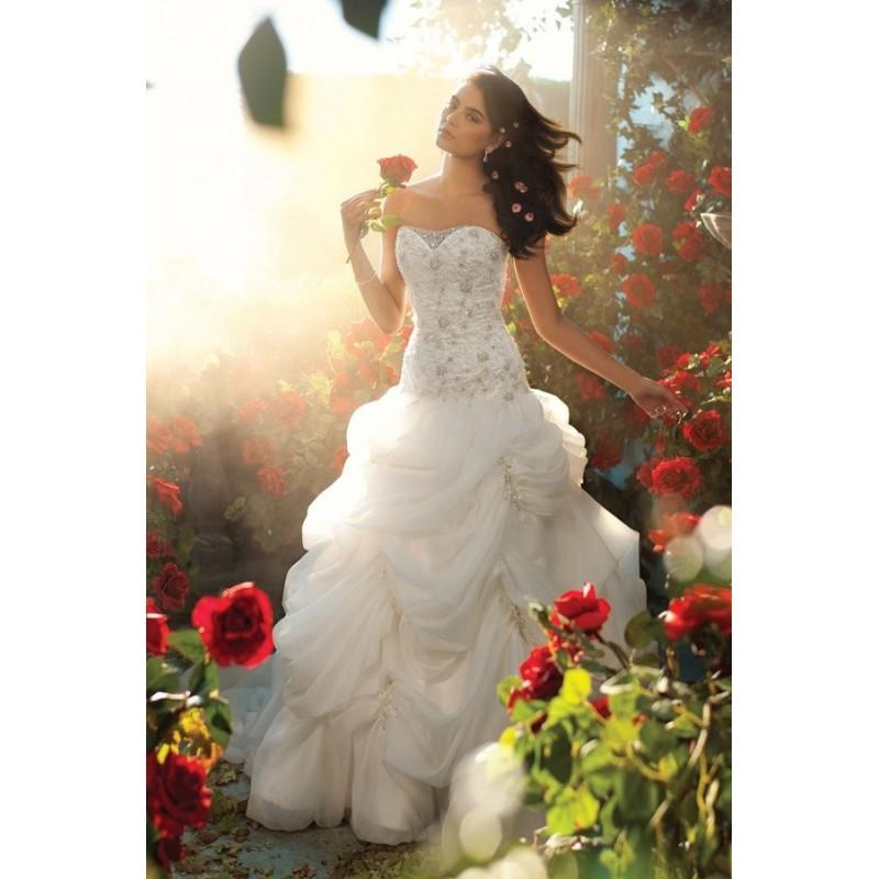Düğün - Disney Fairy Tale Weddings by Alfred Angelo Style 225 - Fantastic Wedding Dresses