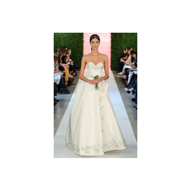 Свадьба - Oscar De La Renta SP2015 Dress 10 - Oscar de la Renta Ball Gown Full Length Sweetheart Spring 2015 White - Nonmiss One Wedding Store