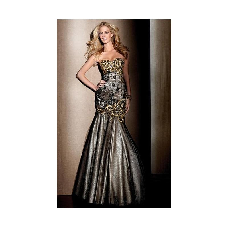 Wedding - Claudine for Alyce Beaded Lace Mermaid Prom Dress 2040 - Brand Prom Dresses
