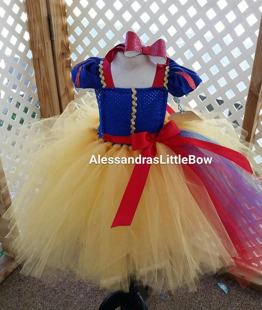 Wedding - Snow White tutu dress Snow White costume dress Snow white tutu disney princess costume Snow White birthday outfit, disney trip outfit