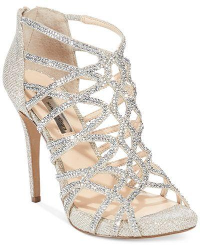 Mariage - INC International Concepts Women's Sharee High Heel Rhinestone Evening Sandals, Only At Macy's