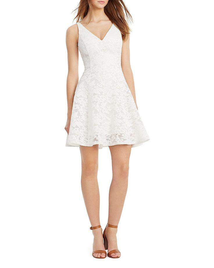 1d3ff9d3afc9 Dress - Lauren Ralph Lauren Lace V-Neck Dress  2678207 - Weddbook