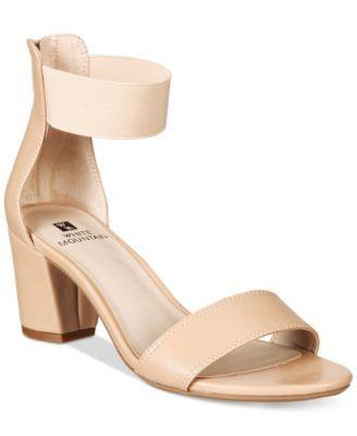 Wedding - White Mountain Elinie Dress Sandals, Only At Macy's