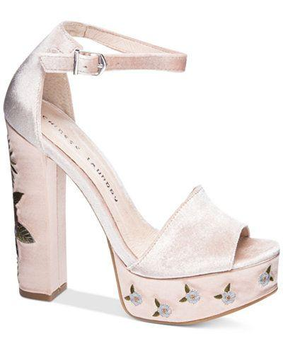 Mariage - Chinese Laundry Ariana Embroidered Platform Sandals