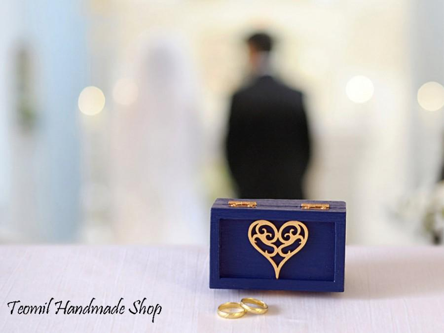 Wedding - Ring Bearer Box, Wedding Ring Box, Engagement Ring Box, Wedding Ring Pillow, Wedding Ring Holder, Proposal Ring Box