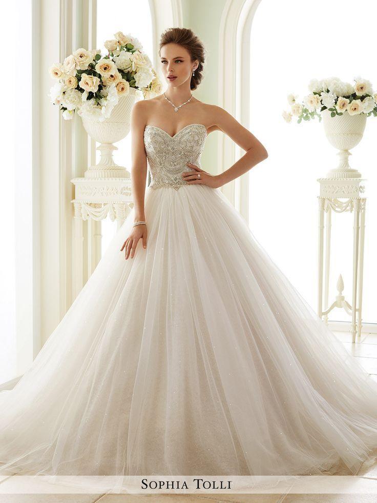 Свадьба - Sophia Tolli - Novella - Y21663 - All Dressed Up, Bridal Gown