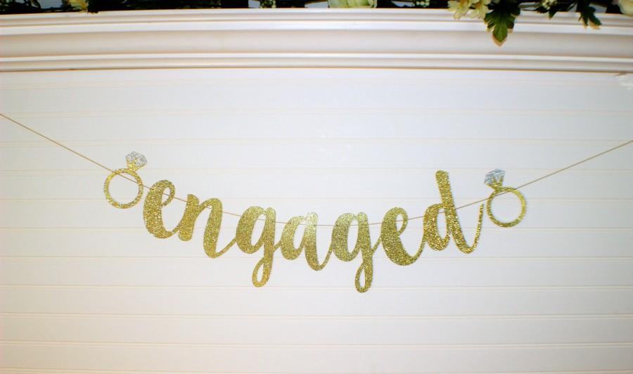Mariage - BRIDE TO BE Banner- Engagement Decoration - Miss to Mrs Garland - Bridal Shower Decoration - Bride to Be Garland - Bachelorette Party Decor