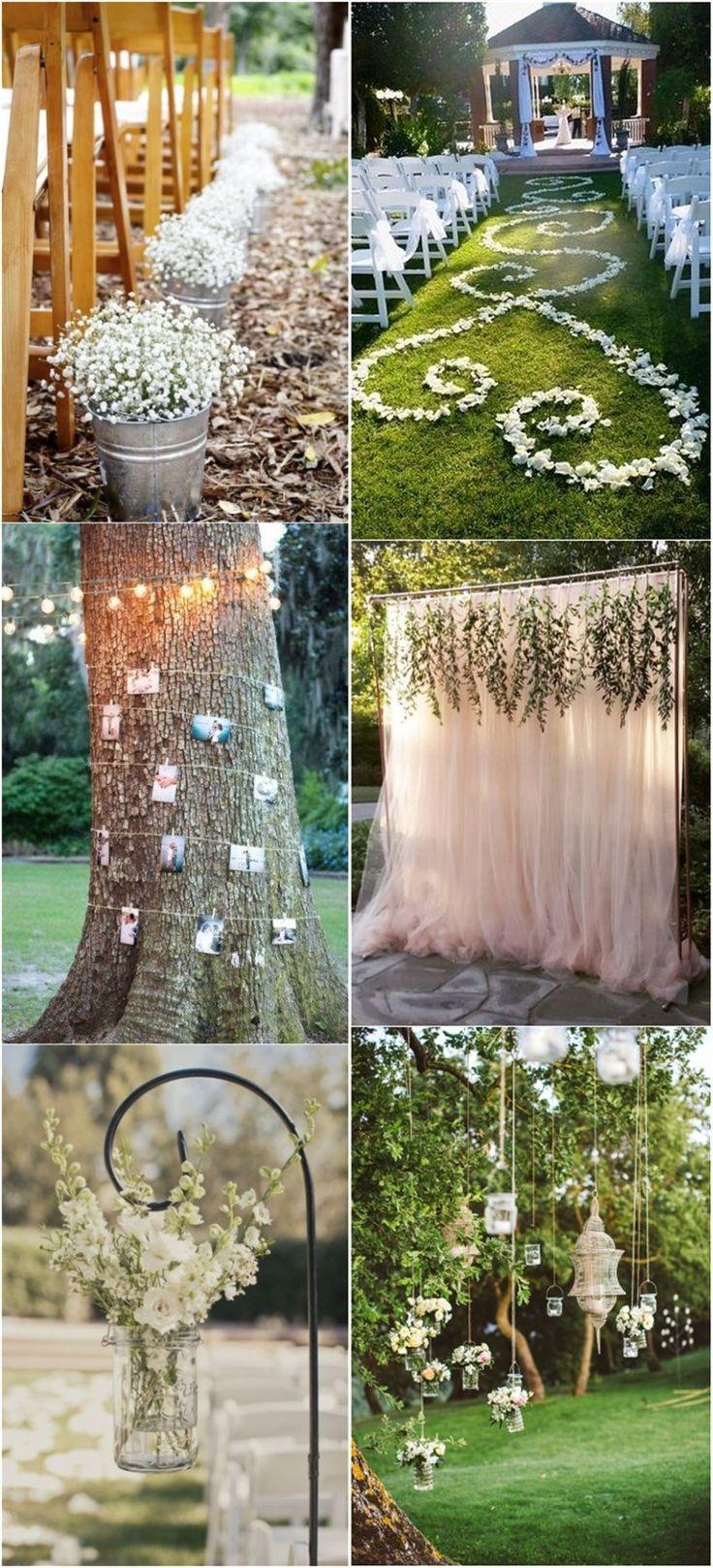 Mariage - 20  Genius Outdoor Wedding Ideas