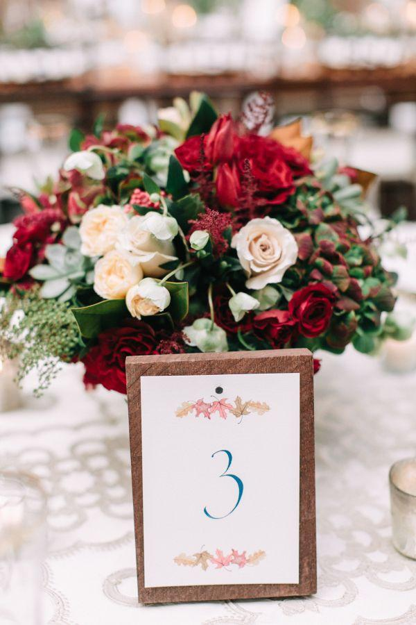 Mariage - The Coziest Fall Wedding That You're Sure To Be Thankful For